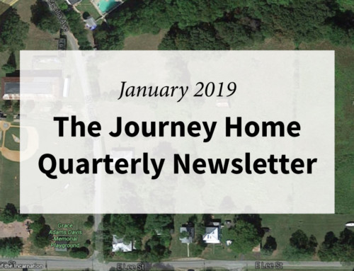 The Journey Home Quarterly Newsletter January 2019