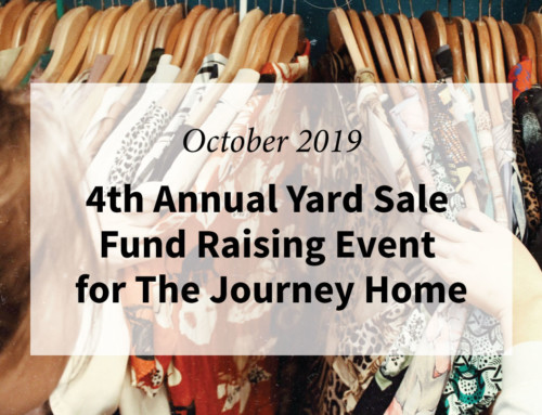 4th Annual YARD SALE Fund Raising Event for The Journey Home