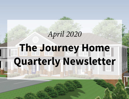 The Journey Home Quarterly Newsletter April 2020