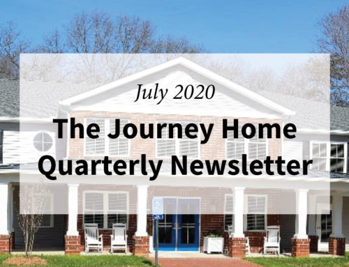 The Journey Home Quarterly Newsletter July 2020